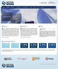 HYIP novacapitalinvest screenshot home page