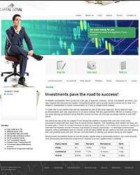 HYIP theinvestmentdirect screenshot home page