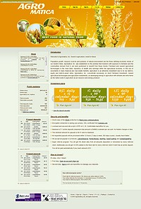 HYIP agromatica screenshot home page