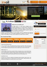 HYIP inv-oil screenshot home page