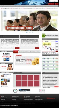 HYIP massfxprofit screenshot home page