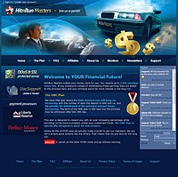 HYIP hitnrunmasters screenshot home page