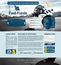 HYIP fast-funds screenshot home page