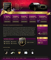 HYIP diamondinvestmentclub screenshot home page
