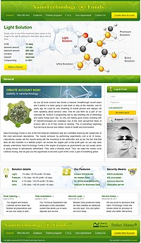 HYIP nanotechfunds screenshot home page