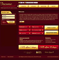 HYIP incomeint screenshot home page