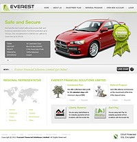 HYIP everestfinancial screenshot home page