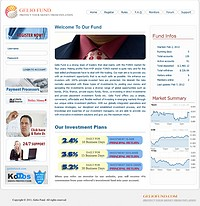 HYIP geliofund screenshot home page