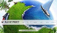HYIP worldofprofit screenshot home page