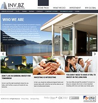 HYIP invbz screenshot home page
