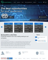 HYIP invest-dynamic screenshot home page