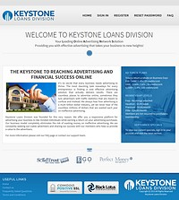 HYIP keystoneloansdivision screenshot home page
