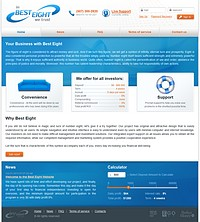 HYIP best-eight screenshot home page