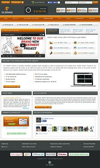 HYIP dcgrand screenshot home page