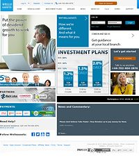 HYIP wellsassets screenshot home page