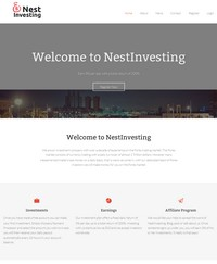HYIP nestinvesting screenshot home page