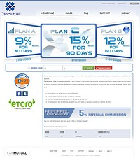 HYIP canmutual screenshot home page