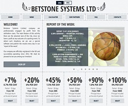 HYIP betstone-systems screenshot home page