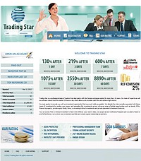 HYIP trading-star screenshot home page