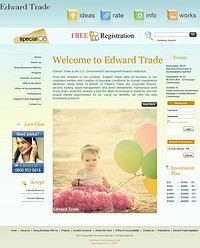 HYIP edwardtrade screenshot home page