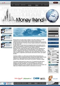 HYIP money-trend screenshot home page