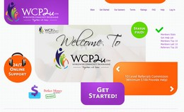 HYIP wcp2u.com screenshot home page