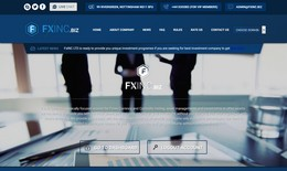HYIP fxinc.biz screenshot home page