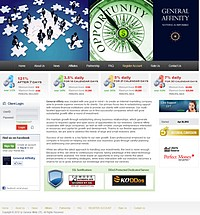 HYIP generalaffinity screenshot home page