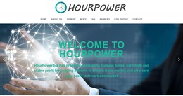 HYIP hourpower.biz screenshot home page