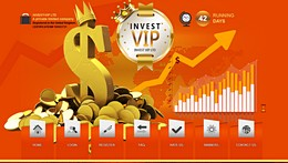 HYIP invest-vip.com screenshot home page
