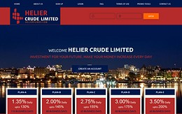 HYIP helierfunds.com screenshot home page