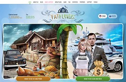 HYIP fatfunds.me screenshot home page