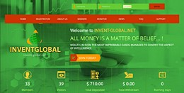 HYIP invent-global.net screenshot home page