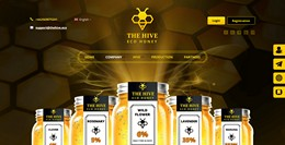 HYIP thehive.eco screenshot home page