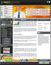 HYIP profitsolutions screenshot home page
