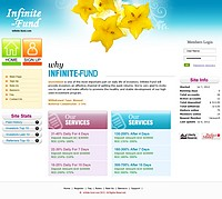 HYIP infinite-fund screenshot home page