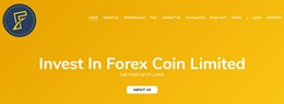 HYIP forexcoin.io screenshot home page