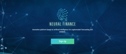 HYIP neural.finance screenshot home page