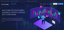 HYIP cryptomkt.biz screenshot home page