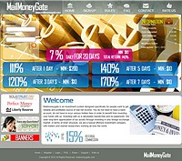 HYIP mailmoneygate screenshot home page
