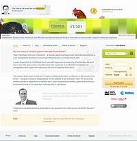 HYIP fininfund screenshot home page