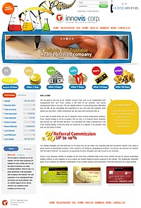 HYIP innovis-corp screenshot home page