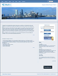 HYIP thestoic screenshot home page