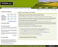 HYIP verifield screenshot home page