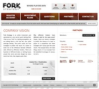HYIP forkstrategy screenshot home page