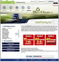 HYIP besthourly screenshot home page