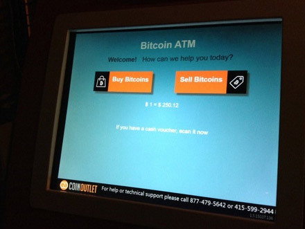 The process of buying bitcoins via the different types of Bitcoin ATMs