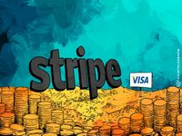 Introducing partnership of visa and stripe
