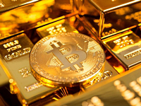 what bitcoins rising correlation with gold means
