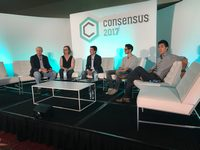 Consensus 2017 blockchain conference